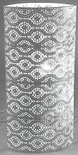 formano Lampe Stimmungslampe Nachttischlampe Dekolampe capri weiß, 18x38 cm