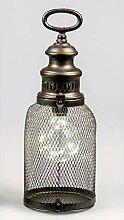 Formano LED Deko Laterne, Lampe HELGOLAND H. 38cm