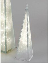 Formano LED Deko Pyramide mit 12 LEDs H. 45cm