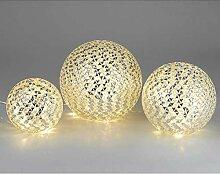 Formano - LED Lampe Outdoor - Mosaik-Lampe aus