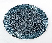 Formano Platzset, 4-teiliges Set, 20 cm, eisblau