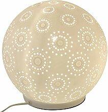 Formano Porzellan-Lampe Kugel Harmonie Blume