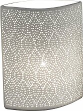 Formano Porzellan-Lampe Punkte Oval Romantisch