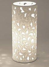 Formano Porzellan-Lampe Rund Harmonie Romantik