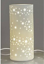 Formano - Porzellan-Lampe Stern - Winterliche