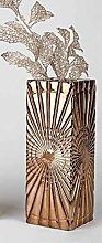 Formano Vase eckig Glamour-Gold 797179 Dekovase