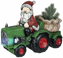 Formano Weihnachtsmann mit Traktor und
