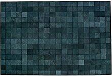 Formart Mosaic Chess Recycelter Lederteppich mit