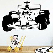 Formel Auto wandkunst Aufkleber Aufkleber Material