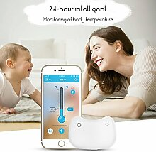 FORNORM Baby Thermometer Fieber, Bluetooth