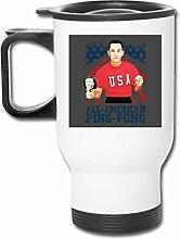 Forrest Gump All American Ping Pong Becher aus