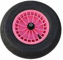 FORT Ersatzrad Pink Rad Schubkarre Gartenkarre Baukarre Schiebkarre ***NEU***
