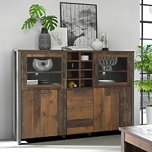 Forte Clif Highboard 152x42x128cm