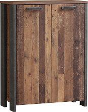FORTE Kommode Clif B/H/T: 86 cm x 115 41,6 braun
