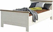 Forte Möbel Einzelbett Duro 100 x 200 cm Bett im