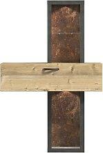 FORTE Regal, Höhe 183 cm Einheitsgröße beige