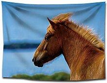 FORTR Home Nordic Wildpferd Pferd Kopf gedruckt
