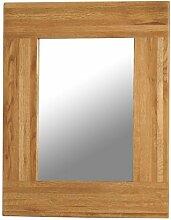 Fortune Woods Wandspiegel 750x600 mm Eiche rustikal