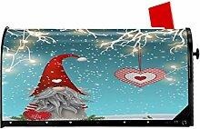 Foruidea Briefkastenabdeckung, Weihnachtszwerg,