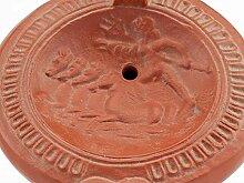Forum Traiani Öllampe Neptun mit Quadriga - Terra