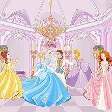 Forwall Fototapete Vlies Tapete Prinzessin