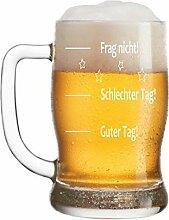 FORYOU24 Bierkrug Bierseidel mit Gravur - Guter