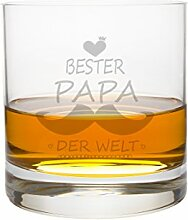 FORYOU24 Whiskeyglas Leonardo Papa II Gravur