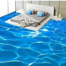 Foto Boden Tapete 3D Stereo Glitzernde Meerwasser