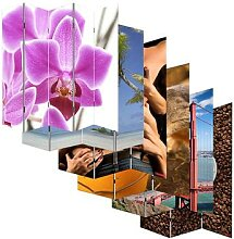 Foto-Paravent Paravent Raumteiler Spanische Wand