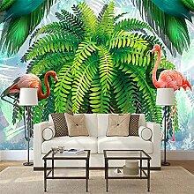 Foto Regenwald Pflanze Blatt Baum Flamingo 3D