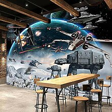 Foto Tapete 3D Stereo Cartoon Schock Star Wars
