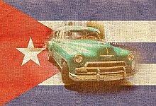 Foto-Tapete - Cuba - Größe 372x254 cm - 8-teilig