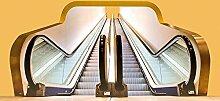 Foto-Tapete - Moving Stairs - Größe 372x254 cm -