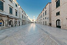 Foto-Tapete - Stradun Dubrovnik - Größe 372x254
