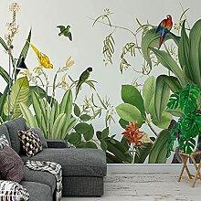 Foto Tropische Pflanze Grüne Blätter Blumen