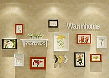 Foto Wand, Nordeuropa Dekoration Foto Wand mit