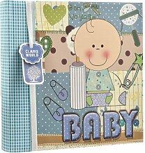 Fotoalbum Baby 17 Stories Farbe: Blau