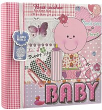 Fotoalbum Baby 17 Stories Farbe: Rosa