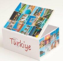 Fotoalbum Fotobox Schachtel Türkei für 400