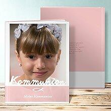 Fotoalbum für Kommunion, Meine Kommunion 60 Seiten, Hardcover 234x296 mm personalisierbar, Ro