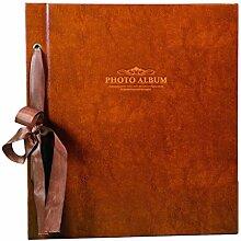 Fotoalbum, Retro-Fotoalbum, für 1000 Fotos, 15,2