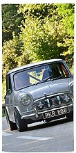 fotobar!style Handtuch 50 x 100 cm Mini Cooper