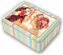 Fotobox Metall für 700 Fotos 10x15cm, aus