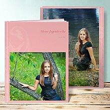 Fotobuch für Jugendweihe, Spirale 28 Seiten, Hardcover 234x296 mm personalisierbar, Ro