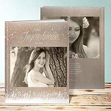 Fotobuch für Jugendweihe, Zauberlicht Jugendweihe 64 Seiten, Hardcover 234x296 mm personalisierbar, Braun
