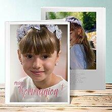 Fotobuch Kommunion Design, Ausblick Kommunion 44 Seiten, Hardcover 234x296 mm personalisierbar, Lila