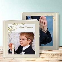 Fotobuch Kommunion Design, Legende 32 Seiten, Hardcover 215x215 mm personalisierbar, Grau