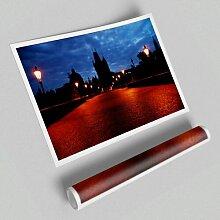 Fotodruck Nachtlichter in Prag