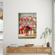 Fotodruck Porzellan auf der Küchentheke Brambly