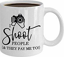 Fotograf Becher Kaffee Teetasse Geschenk